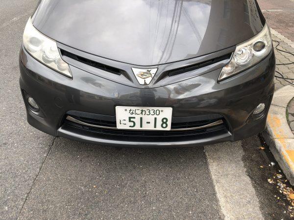 大阪市港区H様 ヘッドライト研磨