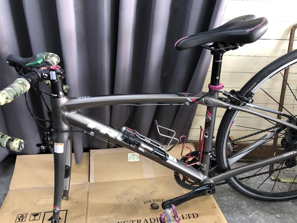 大阪市西区Z様 自転車修理フロントフォーク
