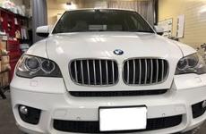大阪市港区F様BMWX5 カーコーティング(マグナム)